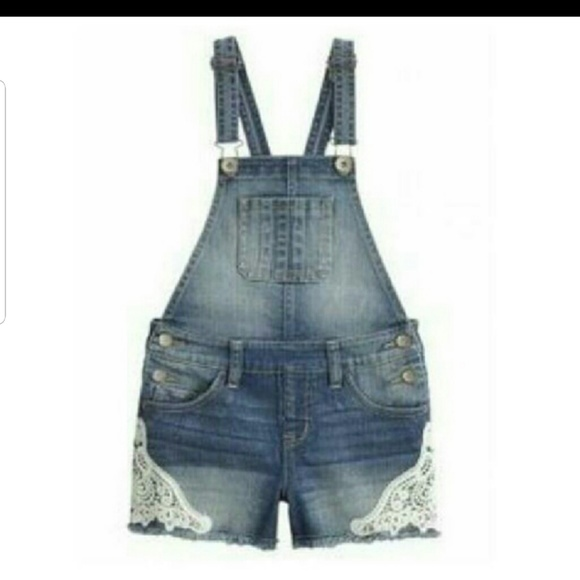 Justice Other - Justice girls shorts overalls 14r